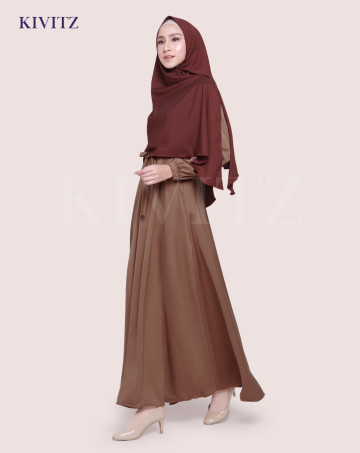 KAYRA DRESS (Dark Brown) image