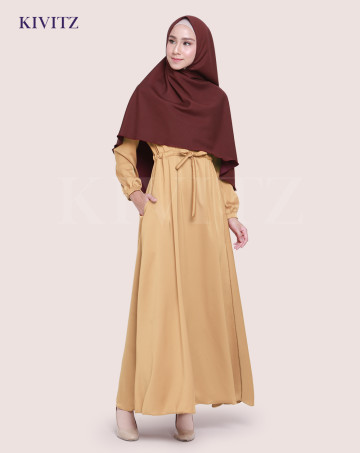 KAYRA DRESS (Gold) image