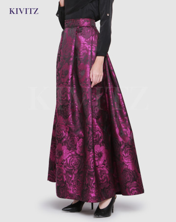 ROSE SKIRT (Purple) image