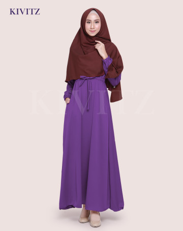 KAYRA DRESS (Violet) image