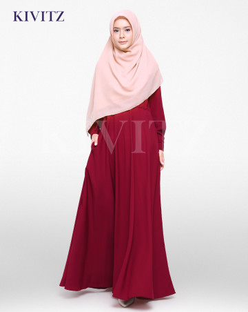 FIZA DRESS (Red) image