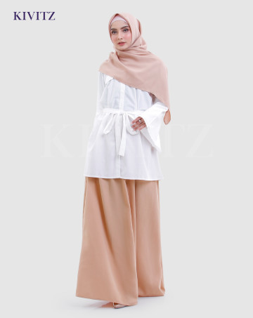 BASIC SKIRT (Light Brown) image