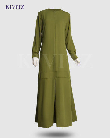 JADIDA DRESS (Pear Green) image