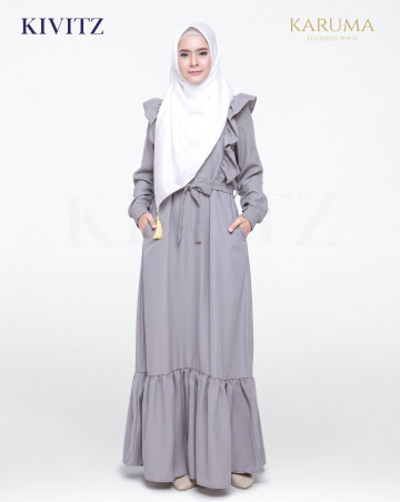 SYARIFA DRESS (Grey) image