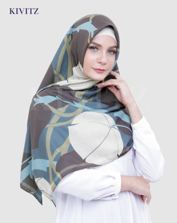 RAIMA LIMITED SCARF - VOAL (Army) image