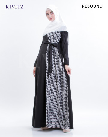 ISYARA DRESS (Black) image