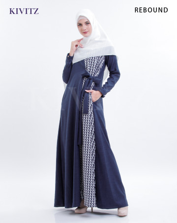 ISYARA DRESS (Navy) image