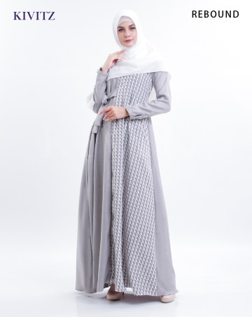 ISYARA DRESS (Grey) image