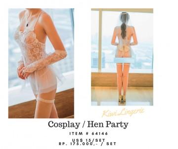 Hen Party Cosplay Costume/Wedding Costume image