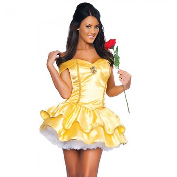 Belle Beauty & The Beast Costume image
