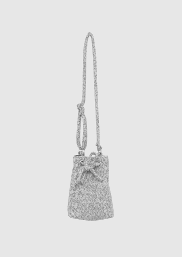 WOOL BUCKET BAG image