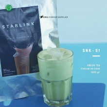 GREENTEA Starlink no sugar 1000 gr - matcha green tea bubuk minuman premium