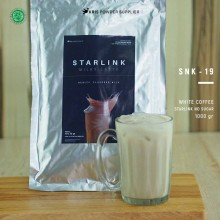 WHITECOFFEE Starlink no sugar 1000 gr – white coffee bubuk minuman premium