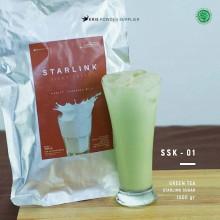 GREENTEA Starlink sugar 1000 gr - matcha green tea bubuk minuman premium
