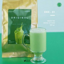 GREENTEA Original no sugar 800 gr - matcha green tea bubuk minuman premium