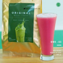 REDVELVET Original no sugar 800 gr – red velvet bubuk minuman premium