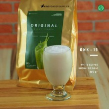 WHITECOFFEE Original no sugar 800 gr – white coffee bubuk minuman premium