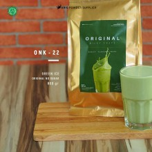 GREENICE Original no sugar 800 gr – green ice bubuk minuman premium