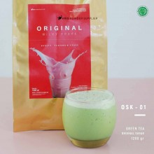 GREENTEA Original sugar 1200 gr - matcha green tea bubuk minuman premium
