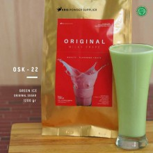GREENICE Original sugar 1200 gr – green ice bubuk minuman premium