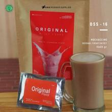 MIX 4 Original sugar 10x55 gr – bubuk minuman premium