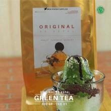 GREENTEA ES KEPAL Original 800 gr - matcha green tea bubuk es kepal