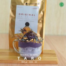 TARO ES KEPAL Original 800 gr – talas bubuk es kepal