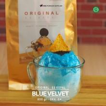 BLUEVELVET ES KEPAL Original 800 gr – blue velvet bubuk es kepal