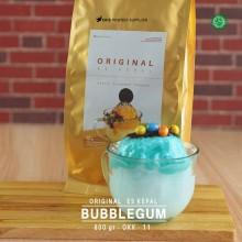 BUBBLEGUM ES KEPAL Original 800 gr – bubble gum bubuk es kepal