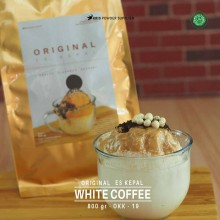 WHITECOFFEE ES KEPAL Original 800 gr – white coffee bubuk es kepal