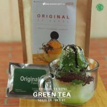 GREENTEA ES KEPAL Original 10X25 GR - matcha green tea bubuk es kepal