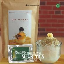 MILKTEA ES KEPAL Original 10X25 GR – milk tea bubuk es kepal