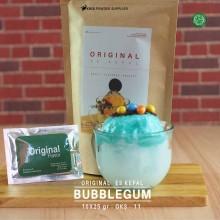 BUBBLEGUM ES KEPAL Original 10X25 GR – bubble gum bubuk es kepal