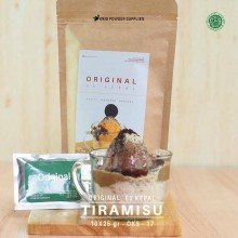 TIRAMISU ES KEPAL Original 10X25 GR – tiramisu bubuk es kepal