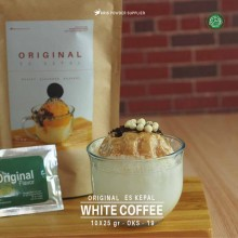 WHITECOFFEE ES KEPAL Original 10X25 GR – white coffee bubuk es kepal