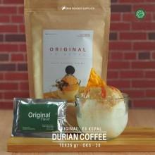 DURIANCOFFEE ES KEPAL Original 10X25 GR – durian coffee bubuk es kepal