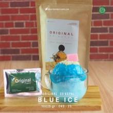BLUEICE ES KEPAL Original 10X25 GR – blue ice bubuk es kepal
