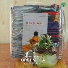 GREENTEA ES KEPAL Original 50x25 gr - matcha green tea bubuk es kepal