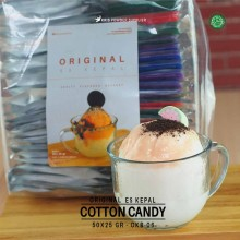 COTTONCANDY ES KEPAL Original 50x25 gr – cotton candy bubuk es kepal