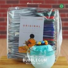BUBBLEGUM ES KEPAL Original 50x25 gr – bubble gum bubuk es kepal