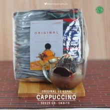 CAPPUCCINO ES KEPAL Original 50x25 gr – cappucino capucino bubuk es kepal
