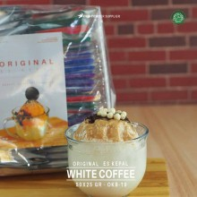 WHITECOFFEE ES KEPAL Original 50x25 gr – white coffee bubuk es kepal