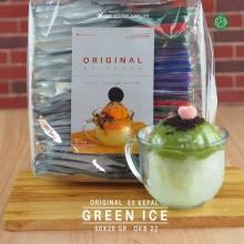 GREENICE ES KEPAL Original 50x25 gr – green ice bubuk es kepal