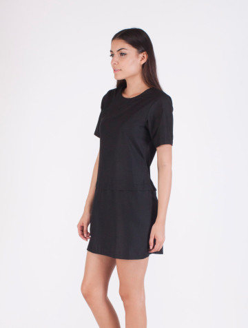 Black Marie Shift Dress