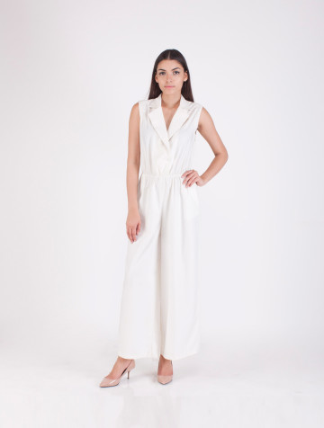 White Ellery Jumpsuit