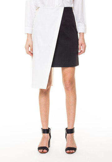 Colorblock Alba skirt