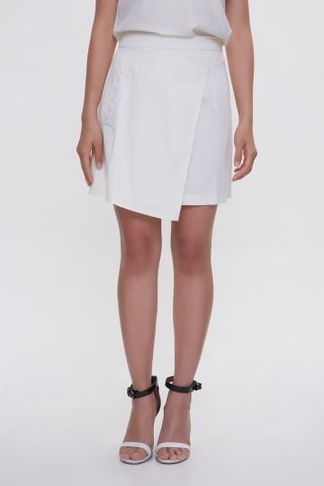 White Carol Skirt