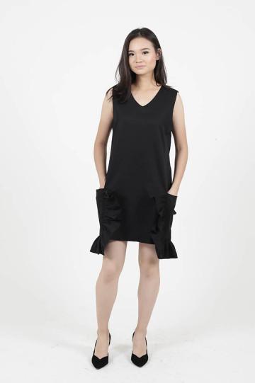 Black Lily Dress