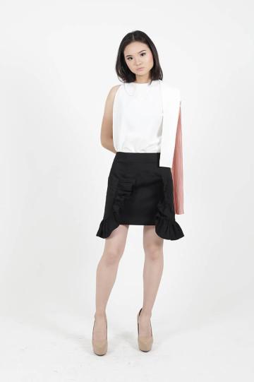 Black Lily skirt