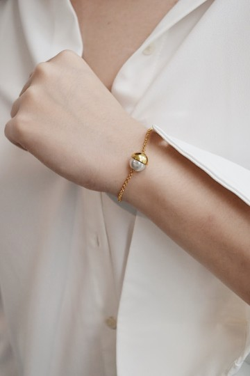 Halve Gold Everyday Bracelet
